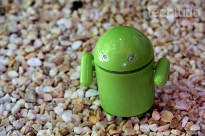 Android robô 1 (Foto: Luciana Maline/TechTudo)