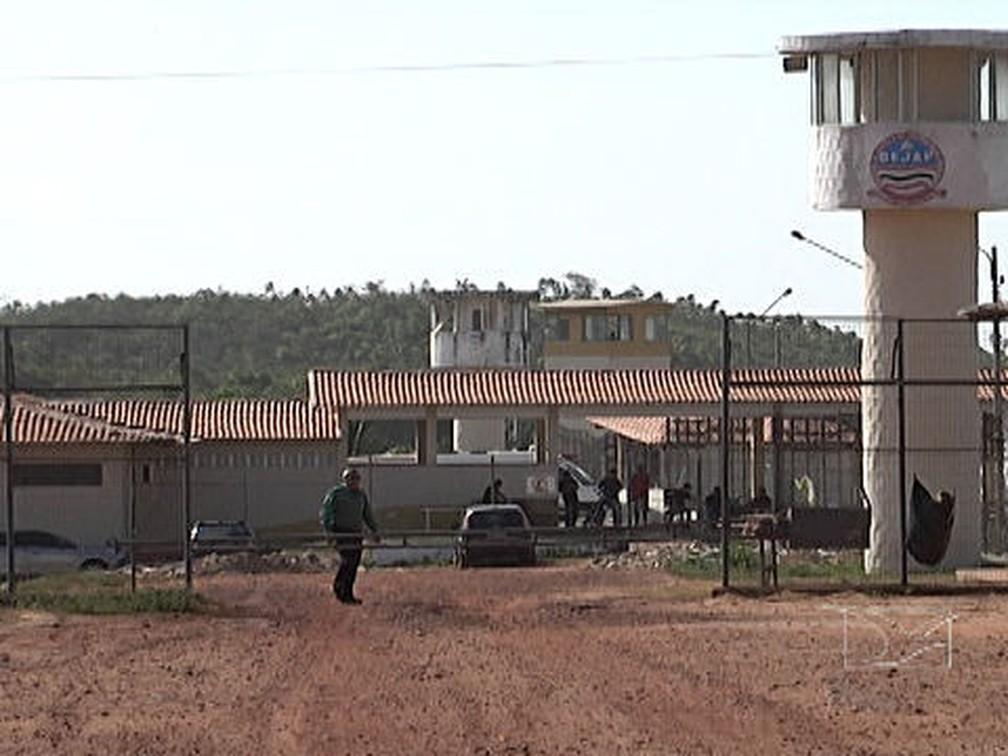 Complexo Penitenciário de Pedrinhas, em São Luís — Foto: Reprodução/TV Mirante