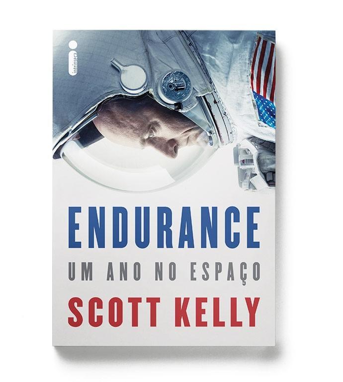 Capa do livro de Scott Kelly (Foto: Divulgação)