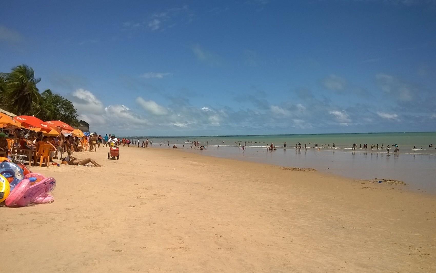 Litoral da Paraíba tem 16 praias impróprias para banho; maré alcança 0,4 m - Notícias - Plantão Diário