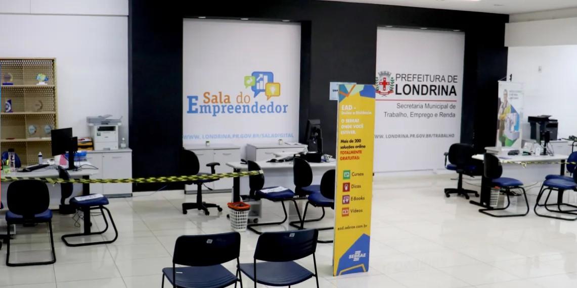Sala do Empreendedor oferece 180 vagas para interessados formalizar empresas