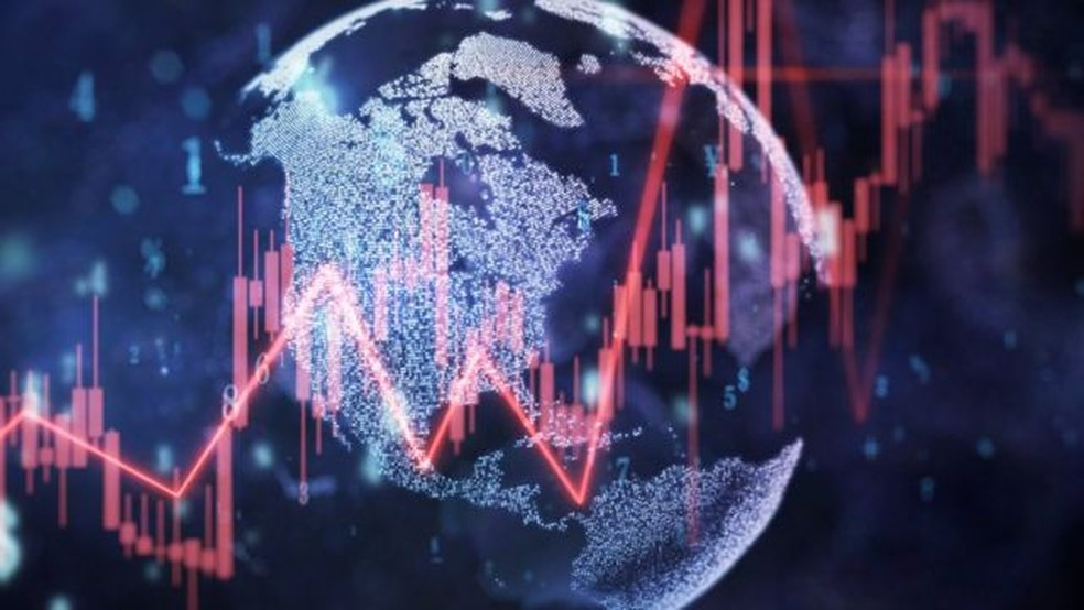 A economia global do nosso planeta valia aproximadamente US$ 142 trilhões — Foto: Getty Images via BBC