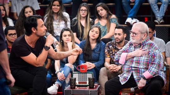 Jô Soares se emociona com declaração de Rodrigo Santoro: 'Patrimônio'