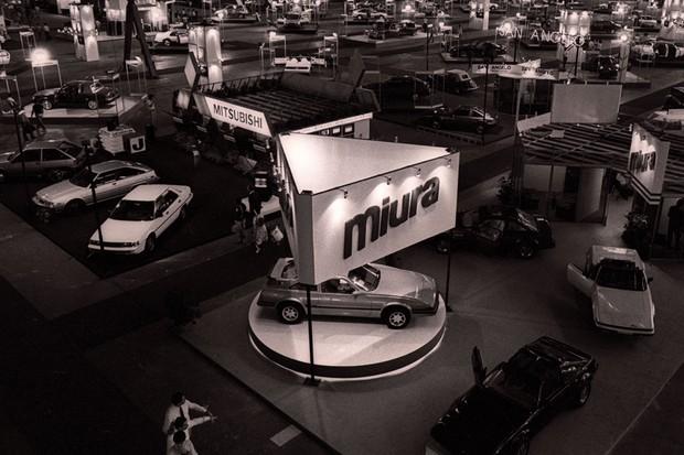 A Miura e a Mitsubishi ficaram lado a lado em 1986 (Foto: Sergio Correa/Autoesporte)