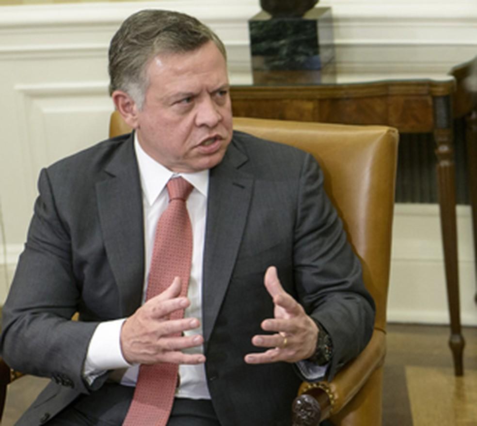 O Rei Abdullah II, da Jordânia, em imagem de arquivo (Foto: AFP Photo/Brendan Smialowski)