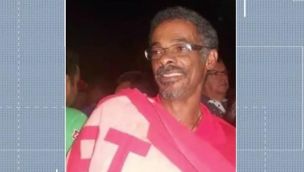 Mário Jorge dos Santos Matos morreu após barco afundar  — Foto: Reprodução/TV Oeste