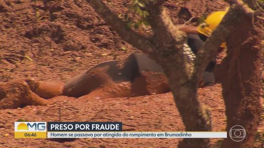 Brumadinho: homem que fingia ser dono de terreno atingido pela lama é preso