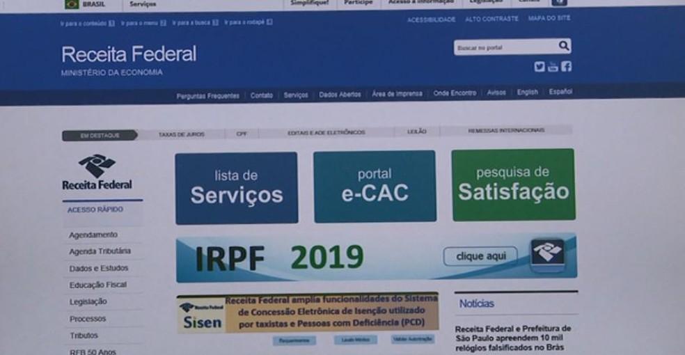 Declaração do Imposto de Renda deve ser enviada até terça-feira (30) — Foto: Reprodução/EPTV