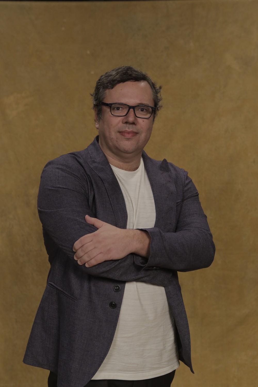 O dono da história: o autor João Emanuel Carneiro  (Foto: Raphael Dias/Gshow)