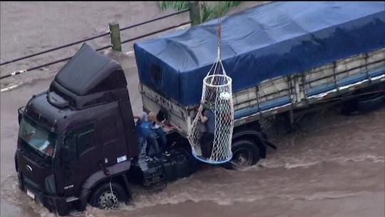 Criança vítima de enchente de sexta-feira em São Bernardo do Campo tem morte cerebral