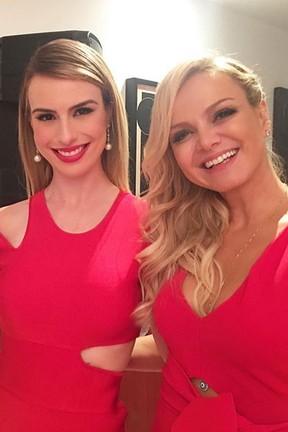 Ex-BBB Fernanda Keulla e Eliana em festa em São Paulo (Foto: Instagram/ Reprodução)