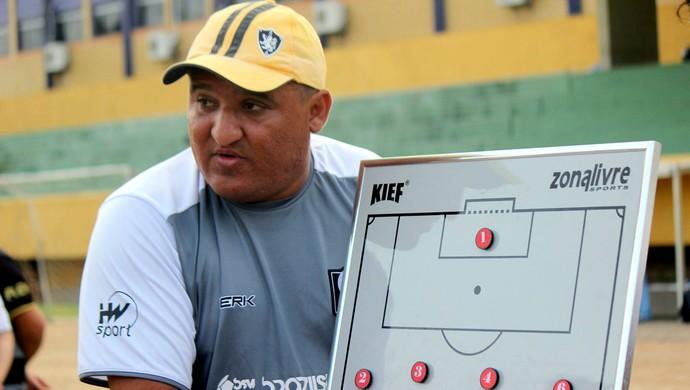 Santa Cruz de Natal - Higor César, técnico (Foto: Diego Simonetti/Santa Cruz de Natal)