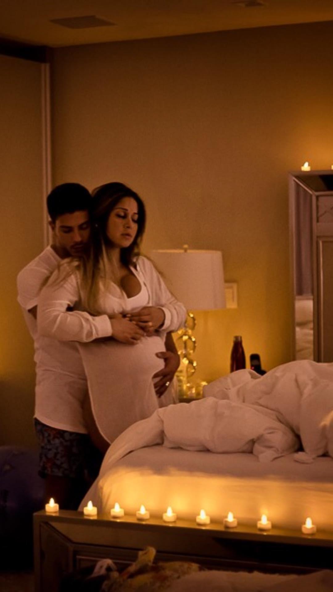 Mayra Cardi em trabalho de parto (Foto: Reprodução Instagram)