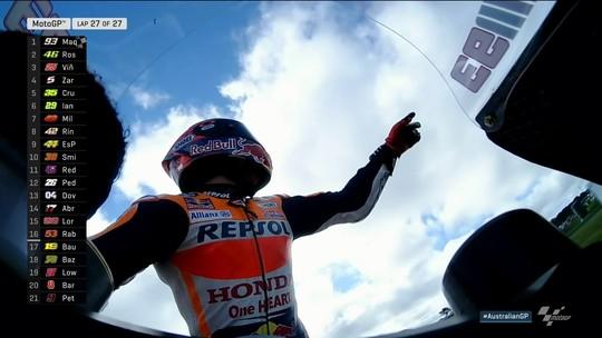 Márquez chega em primeiro na Austrália e acumula sexta vitória no ano
