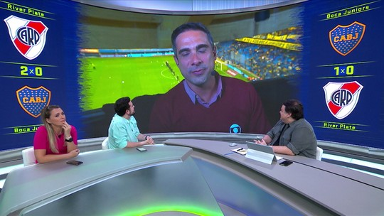 """Troca analisa Boca x River: """"River mais jogou para atrapalhar o Boca do que para impor seu jogo"""""""