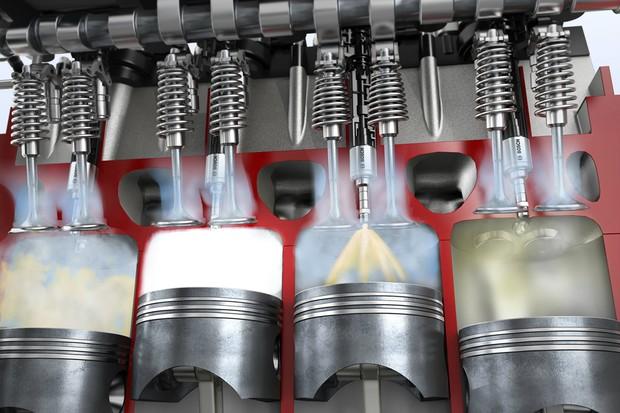 O sistema direto injeta o combustível dentro da própria câmara de combustão (Foto: Divulgação)