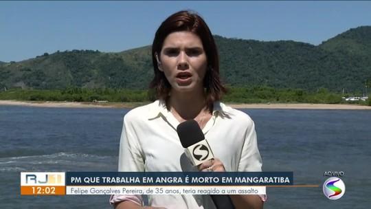 De folga, PM morre ao reagir a assalto em Mangaratiba, RJ