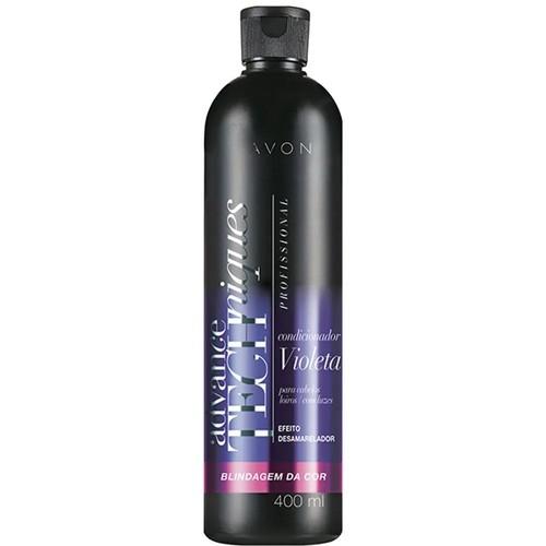 Shampoo Violeta Advance Techniques Profissional Blindagem da Cor, Avon, R$ 17,99 (Foto: Divulgação)