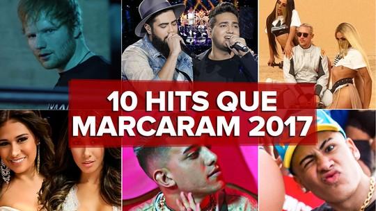 10 hits que marcaram 2017: G1 comenta em VÍDEO as músicas que bombaram neste ano