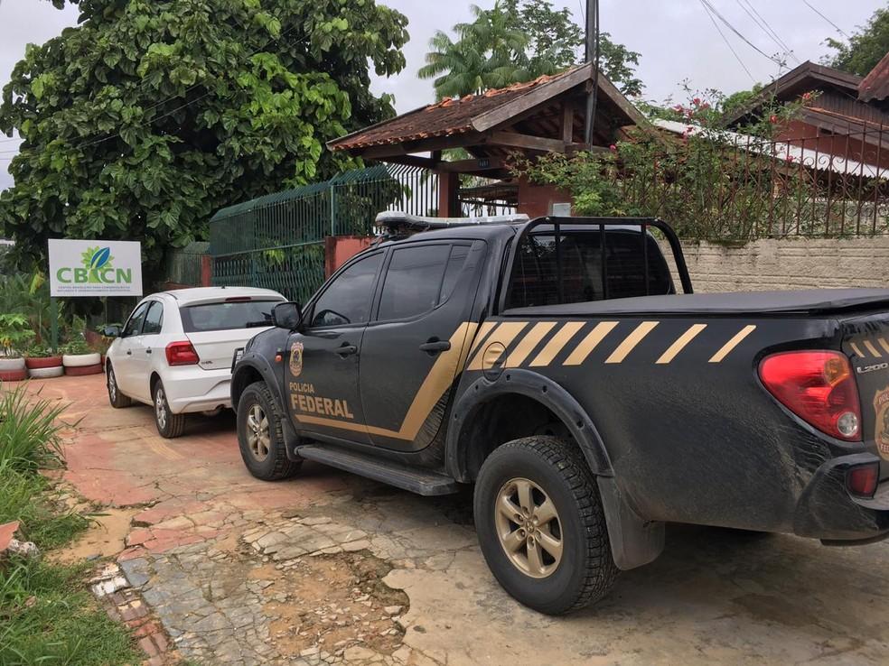 Operação investigou ONG contratada para tornar cidade do AC autossuficiente em energia por meio do aproveitamento do lixo — Foto: Gledisson Albano/Rede Amazônica Acre