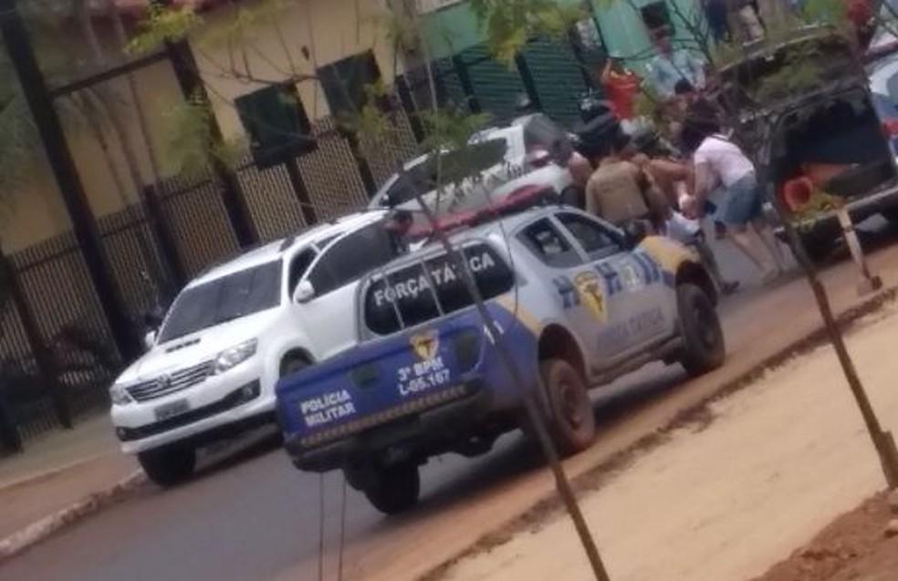 Delegado foi baleado em Guaraí (Foto: Divulgação)