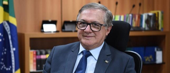 O ministro da Educação, Ricardo Vélez Rodríguez
