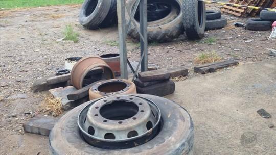 Homem de 26 anos morre após pneu estourar em borracharia de posto em Andradas, MG