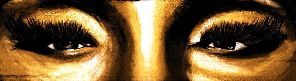 Detalhe da capa do single 'Deus há de ser', de Elza Soares (Foto: Reprodução)