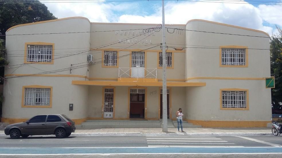 Prefeitura de Sumé, PB — Foto: Prefeitura de Sumé/Divulgação