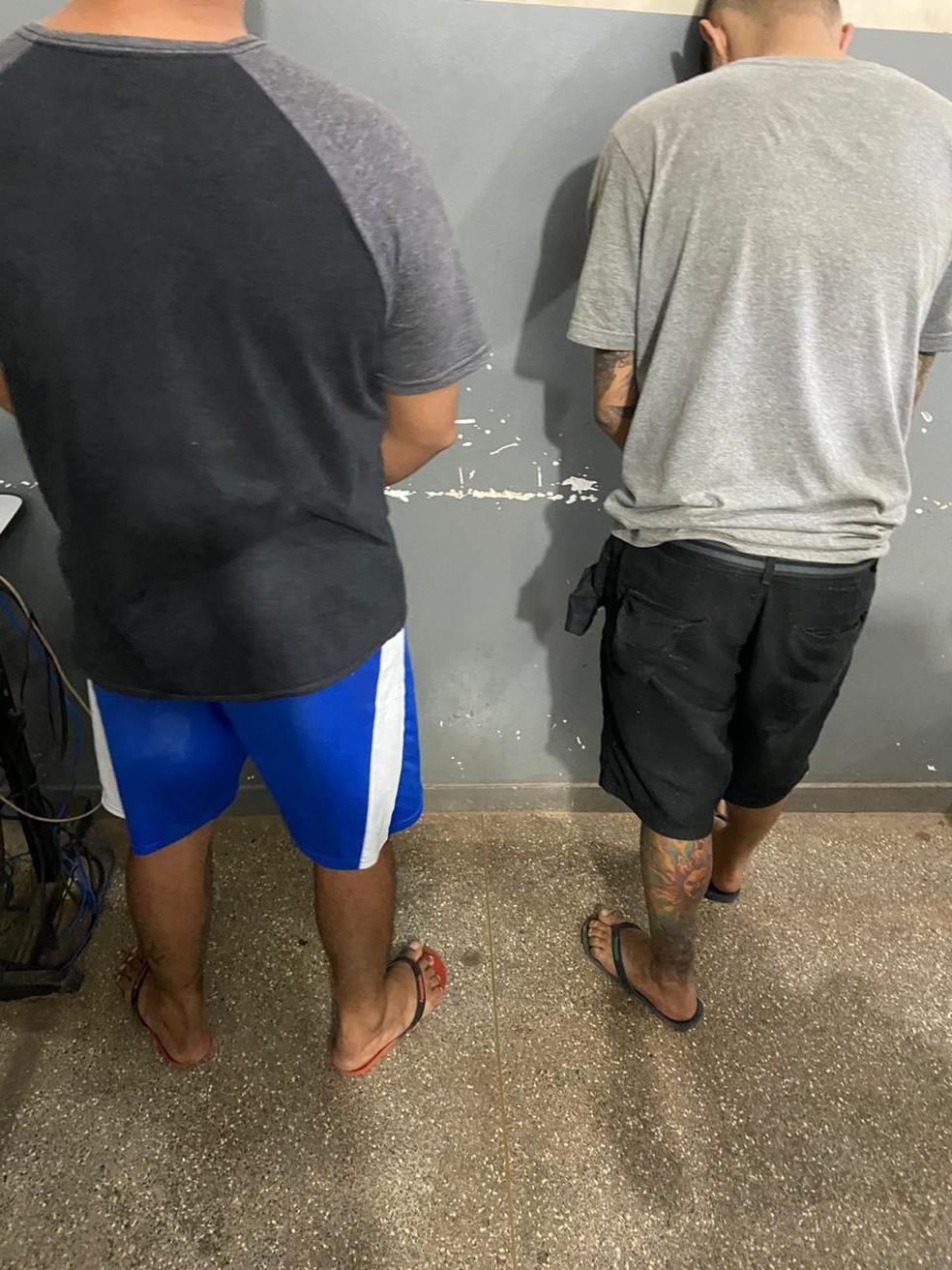 Homens são presos em MT — Foto: Divulgação