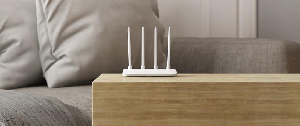 Mi Router 4A Giga Version tem preço sugerido de R$ 399,99 — Foto: Divulgação/Xiaomi