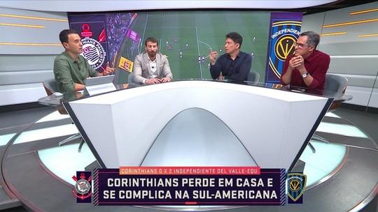 """Comentarista analisa derrota do Corinthians: """"Um choque de realidade"""""""
