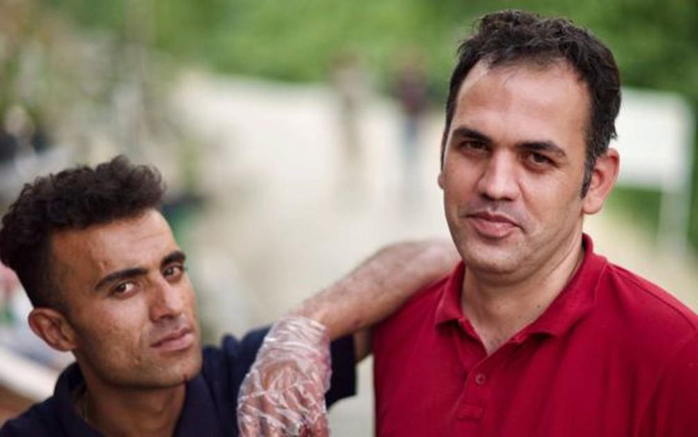 Hadi (à direita) diz que as sanções dos EUA uniram liberais e conservadores no Irã — Foto: BBC