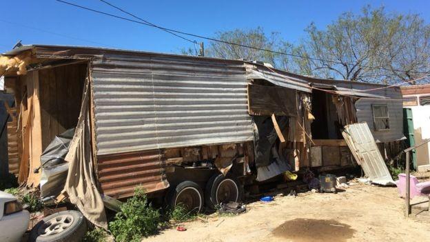 Quase a totalidade dos moradores de Escobares tem origem hispânica (Foto: BBC News)