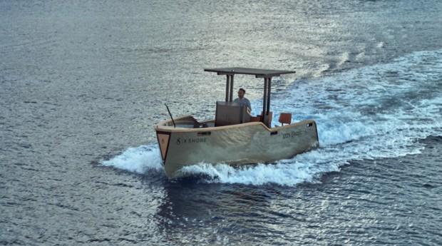 O menor barco tem 6,5 metros e o maior tem 8 metros (Foto: Divulgação)