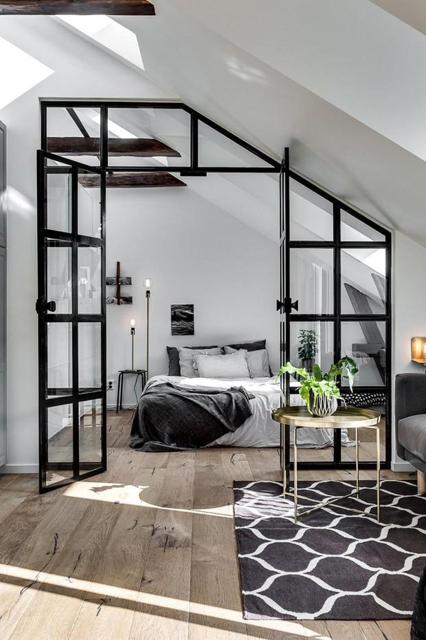 Décor do dia: estilo industrial no quarto de casal (Foto: Divulgação)