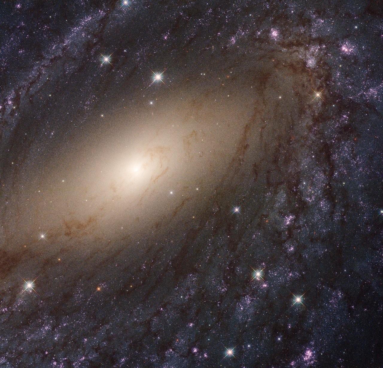 Braços espirais espaciais (Foto: Reprodução/ NASA)