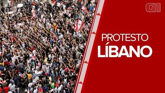 Protestos sem precedentes reúnem dezenas de milhares e ameaçam governo no Líbano