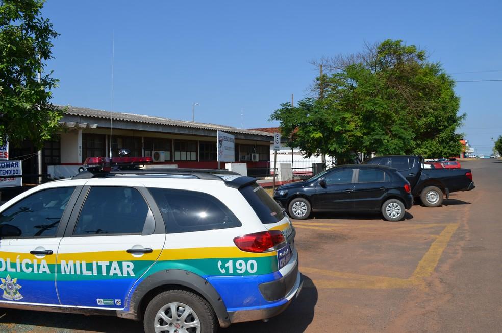 Caso foi registrado na Delegacia de Cacoal, que investiga o caso (Foto: Rogério Aderbal/G1)