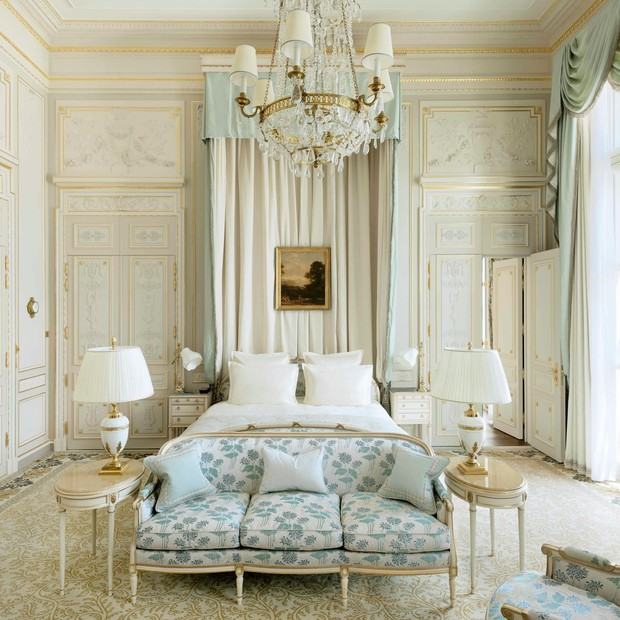 Suite Coco Chanel, no hotel Ritz, em Paris (Foto: Arquivo Ritz via Artcurial)