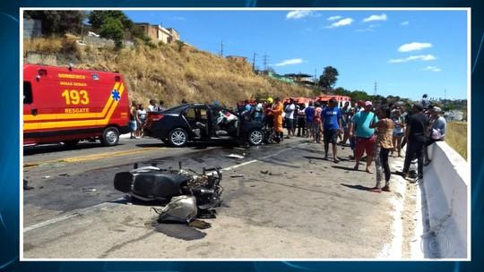Motociclista morre em acidente na BR-381, na Região Metropolitana de Belo Horizonte