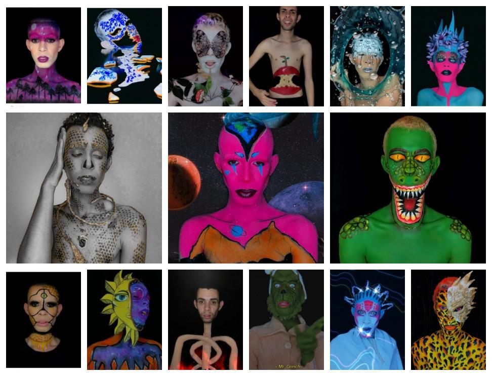 Jovem faz sucesso na internet com vídeos de transformação com maquiagem: 'De 3 a 13 horas para me produzir'