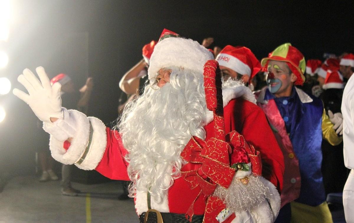 Chegada do Papai Noel abre 'Mundo Encantado' dia 19 de novembro, em Manaus