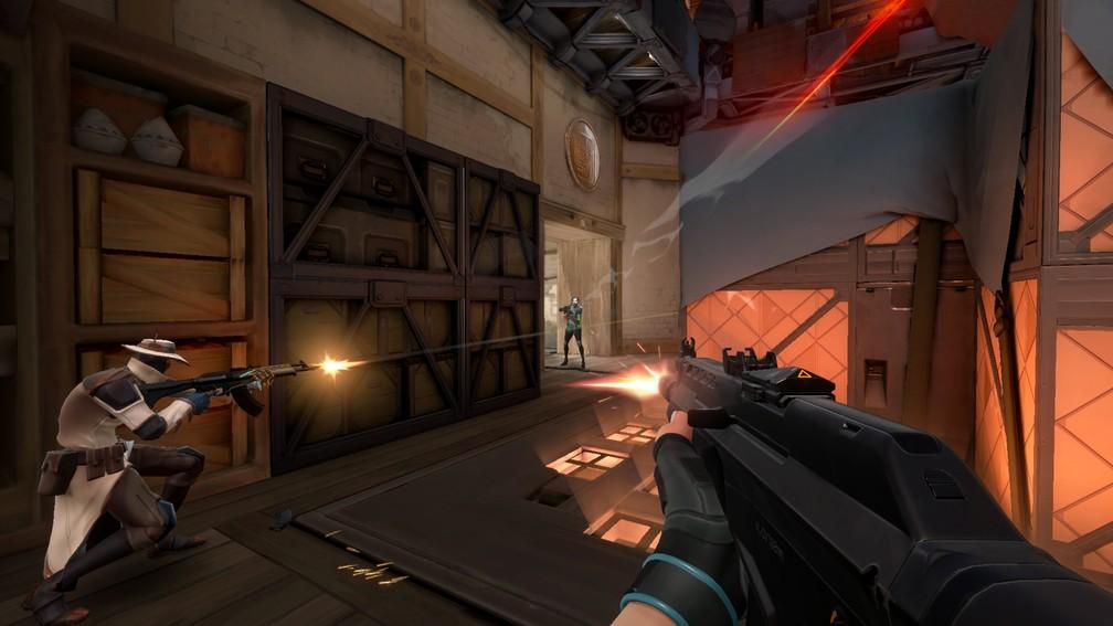 'Project A' é o jogo de tiro em primeira pessoa ainda sem nome da Riot — Foto: Divulgação