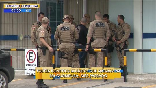 Polícia identifica nove suspeitos de envolvimento na morte de PM em Guabiruba