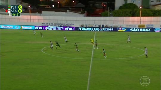 Petrolina quebra jejum de gols, mas segue sem vencer no Pernambucano