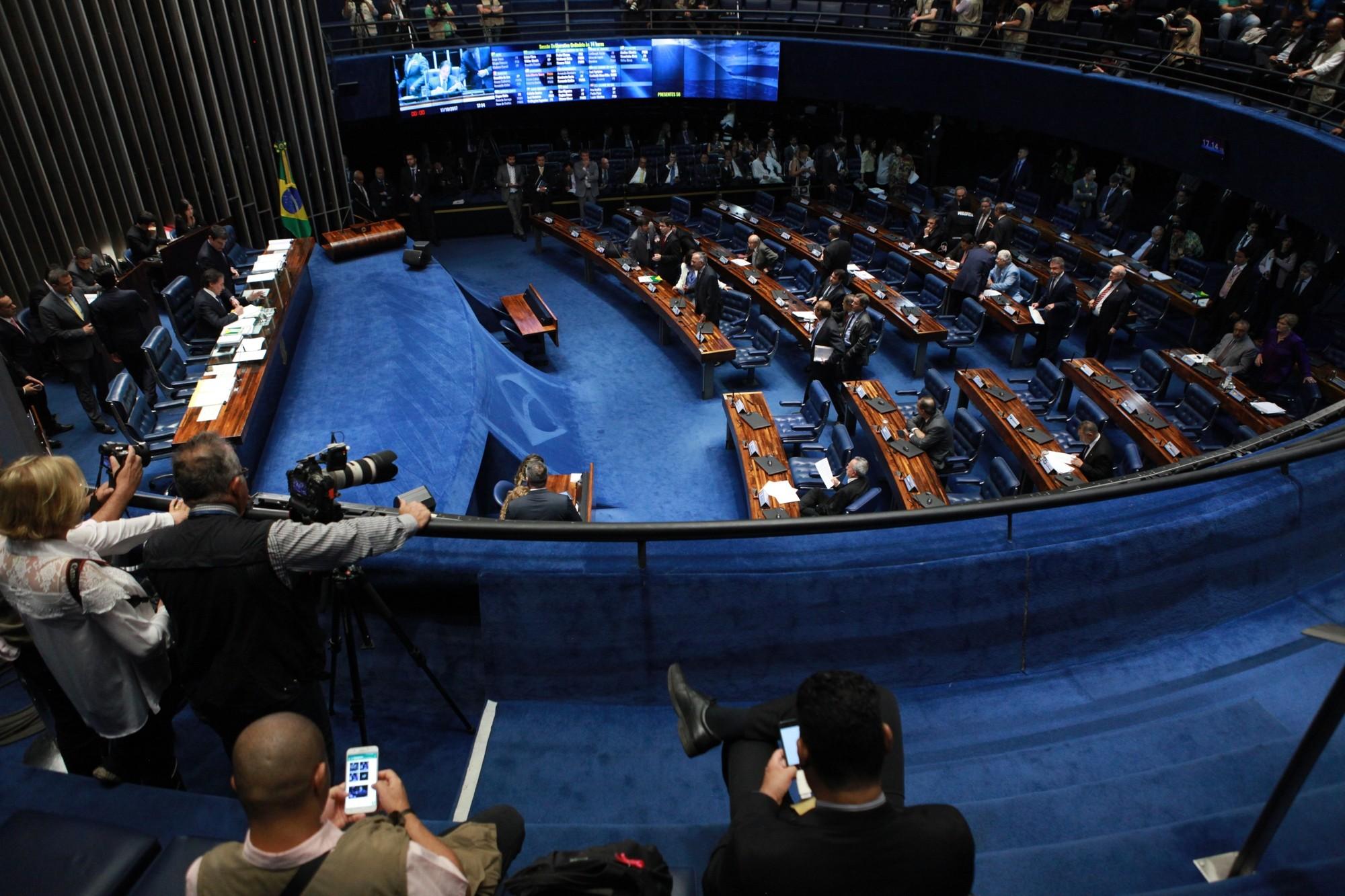 Senado dá aval à impunidade