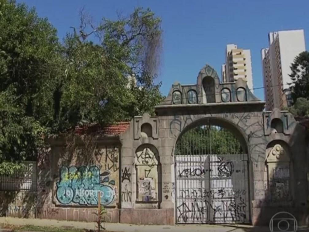 Parque Augusta   — Foto: Reprodução/TV Globo