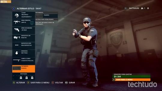 Battlefield Hardline: veja como comprar novas armas e equipamentos