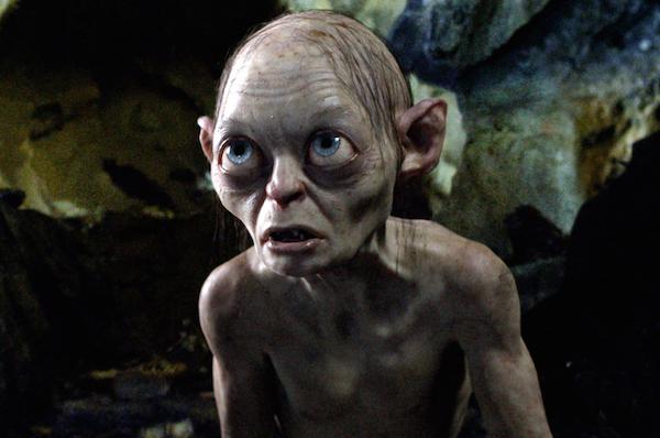 O ator Andy Serkis no papel de Gollum (Foto: Reprodução)